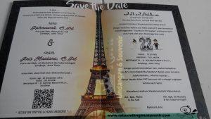 Undangan Pernikahan, Konsep Barcode
