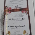 Undangan Pernikahan Konsep Kalender