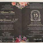 Undangan Pernikahan Elegan, Modern Dan Terupdate