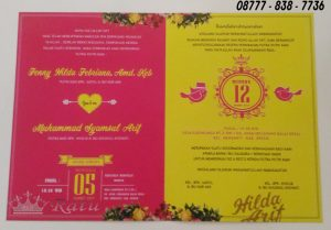 Undangan Pernikahan Custome Murah
