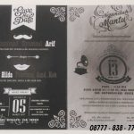 Undangan Elegant Murah Surabaya Custome Design