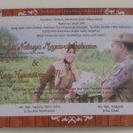 Undangan Pernikahan 3 Sisi