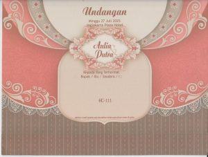 Undangan Blangko Pernikahan, Blangko Surabaya