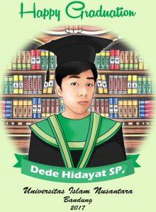 Karikatur Wisuda Surabaya, Jasa Desain Karikatur
