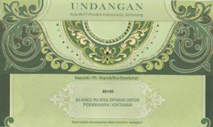 Undangan Blangko Murah Surabaya, Undangan Surabaya