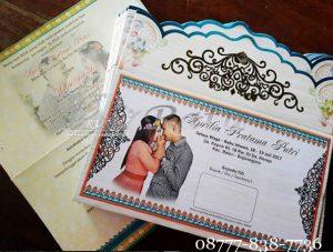 Undangan Blangko Unik Pernikahan Murah Di Surabaya, Sidoarjo