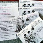 Undangan Pernikahan Murah, Custom Blangko