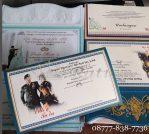 Undangan Blangko Custom Murah, Undangan Blangko Surabaya