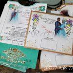 Undangan Blangko Custom Pernikahan Surabaya