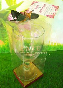 Souvenir Gelas Termurah , Kualitas Utama Di Surabaya, Sidoarjo, Sumatra