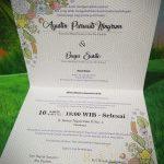 Undangan Pernikahan Custom, Undangan Custom Murah