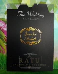 undangan pernikahan, wedding invitation, undangan amplop single hardcover