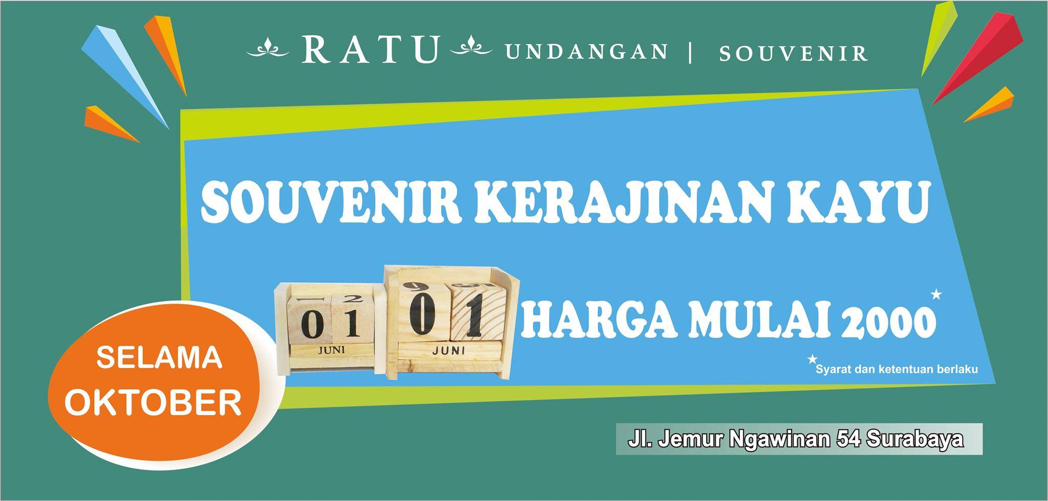 RATU UNDANGAN & SOUVENIR HP.085649411149 (WA)