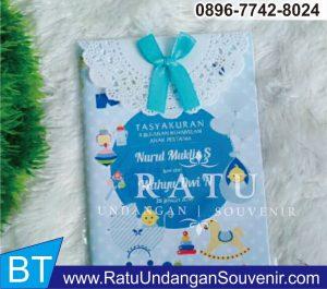 souvenir buku 4 dan 7 bulanan Jawa Barat